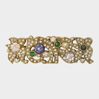 1928 Jewelry Co. Victorian Revival Brooch