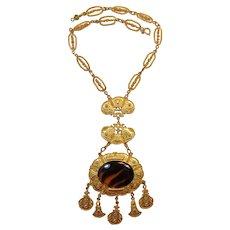 Accessocraft Elaborate Medallion Necklace