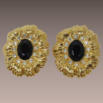 Kenneth Lane K.J.L. for Avon Flower Earrings - Book Piece