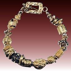 Bracelet ~ CELEBRATION ~ Vermeil and Gold-fill