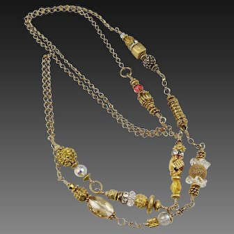 """Long Necklace ~ HOLIDAY ~ from the """"Celebration"""" Series"""