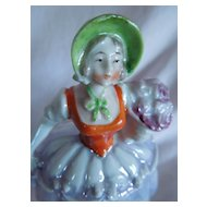 """LOVELY 5"""" German Dresser Doll with Luster Detailing"""