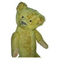 CHARMING Early American Made Teddy Bear c. 1915