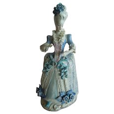 "WONDERFUL and Rare 14"" Large Cordey Lady Figurine"
