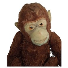 "AWESOME 13"" Steiff Jocko Monkey circa 1940's"