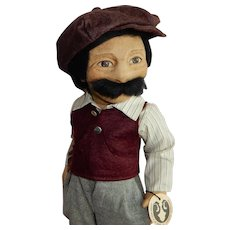 AWESOME and Rare Early R John Wright Character Doll Guido