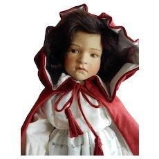 "MIB R.John Wright 20"" Children's Classics ""Little  Red Riding Hood""  from 1988"