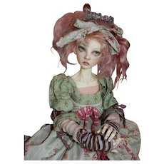 EXQUISITE 21' Ball Jointed BJD Doll  a Connie Lowe Design and Creation