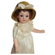 "ADORABLE and Rare 10"" Gebruder Heubach 8193 Doll"