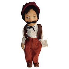 EARLY R John Wright Peasant Doll Guido