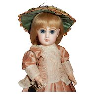 "14"" French Bisque Bebe, Tete Size 5, by Emile Jumeau with Gorgeous Large Eyes"