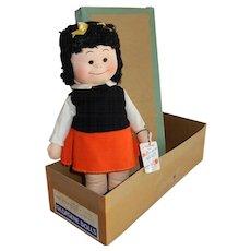 WONDERFUL 1945 Georgene Averill Nancy Cloth Comic Doll