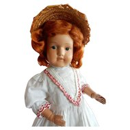 "Sweet 20"" Schoenhut Miss Dolly c.1911"