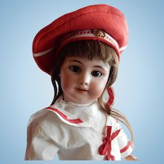 """LOVELY 23"""" Antique DEP Doll Made for the French Market"""