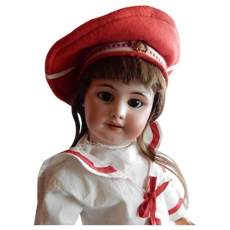 "LOVELY 23"" Antique DEP Doll Made for the French Market"
