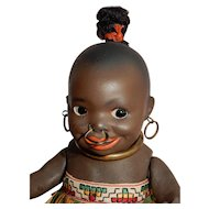 """RARE and Wonderful 7"""" All-original Brown Complexion character, model 463, by Koppelsdorf"""