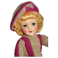 SPECTACULAR Origianl Mary Hoyer Skater Doll