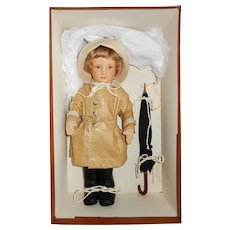 MIB 1986 R John Wright Christopher Robin in Rain Coat
