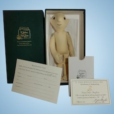"FUN and Sweet R John Wright ""The First Doll Replica"