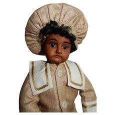 "WONDERFUL 12"" Brown Complexion Heinrich Handwerck Mold 79"