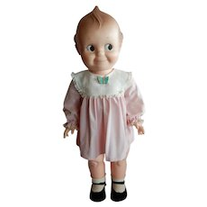 """FUN and Large 24"""" Cameo Kewpie Doll from the 1960's"""