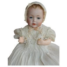 "BEAUTIFUL and Petite 10"" wigged Kestner 237 Hilda Baby"