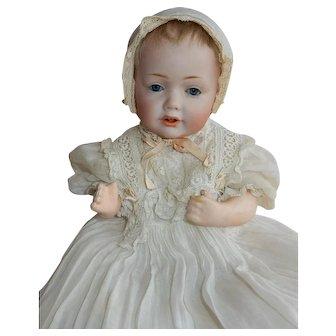 "BEAUTIFUL and Petite 10"" wigged Kestner 237 Hilda Baby"