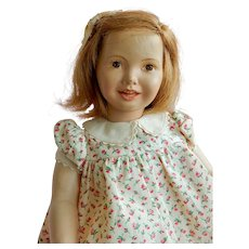 """SWEET and Rare 12"""" Dewees Cochran Grow Up Series Doll Abigail Appleseed."""