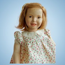 "SWEET and Rare 12"" Dewees Cochran Grow Up Series Doll Abigail Appleseed."