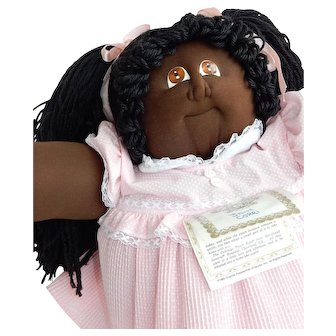 """AWESOME 22"""" Xavier Roberts Soft Sculptured 1985 Cabbage Patch Kid"""
