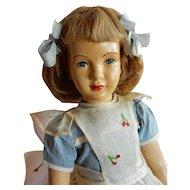 "CHARMING 16"" Dewees Cochran Studio artist Doll ""Cindy""  All Original"