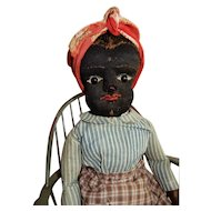 "SO RARE 21"" Black Beecher Doll"