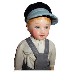 "OUTSTANDING 16"" Stockinet Martha Chase Boy Doll"