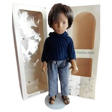 HANDSOME Trendon Sasha Gregor Dark Denim Doll In Original Box