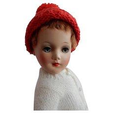 WONDERFUL Vintage Hard Plastic Mary Hoyer Boy Roller Skater Doll