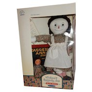 MIB and Great Applause Volland Raggedy Ann Anniversary Authentic 1918  Reproduction