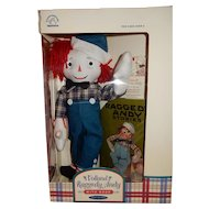 DANDY and Mint in Box Applause Volland Raggedy Andy