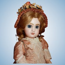 LOVELY Size Five Tete Jumeau French Doll