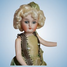 "SWEET 8"" German Kammer Reinhardt/Halbig Flapper in Original Costume"