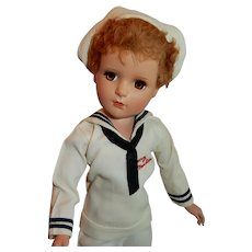 """DELIGHTFUL 18"""" Hard Plastic Madame Alexander Mary Martin from South Pacific Musical"""