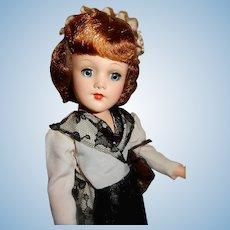 Glamourous 1950's Hard Plastic Original Mary Hoyer Doll