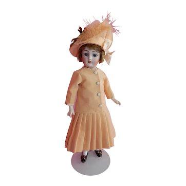 "WOW 12"" Mint Simon Halbig 1159 Flapper Doll"