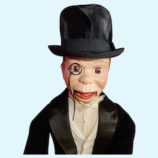 """RARE Larger size 19"""" Effanbee Charlie McCarthy"""