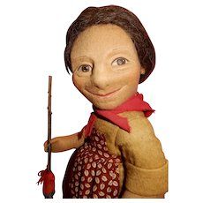 WONDERFUL and Hard To Find. R John Wright Peasant Doll Emma