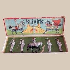 VINTAGE Boxed Set of British Knights.