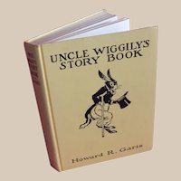"""CHARMING 1939 Platt and Munk Edition """"Uncle Wiggilys Story Book"""""""