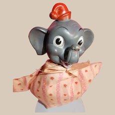 VINTAGE 1941 Walt Disney's Dumbo Hand Puppet by Gund