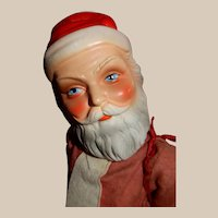 EARLY Composition German Santa Claus Doll by Freundlich Novelty Corp., New York, N.Y.