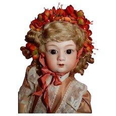 "CHARMING 17"" Gebruder Heubach 8192 Character doll"