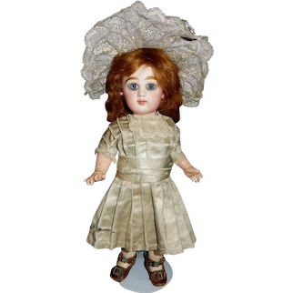 """LOVELY 12"""" Size 3 Tete Jumeau in Original Dress with Extra costume"""